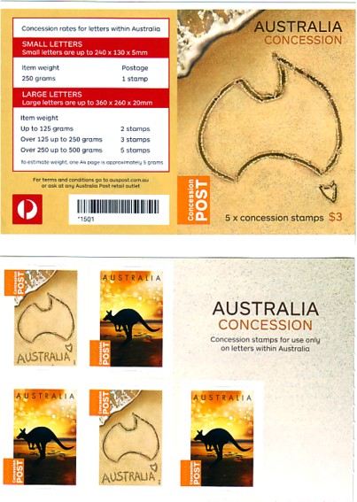 Australian Stamp Collecting Concession Stamps Of Australia