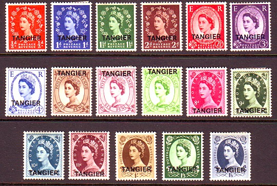 Queen Elizabeth, Wilding stamps